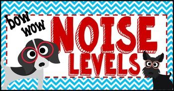 Dog Theme Noise Level Chart