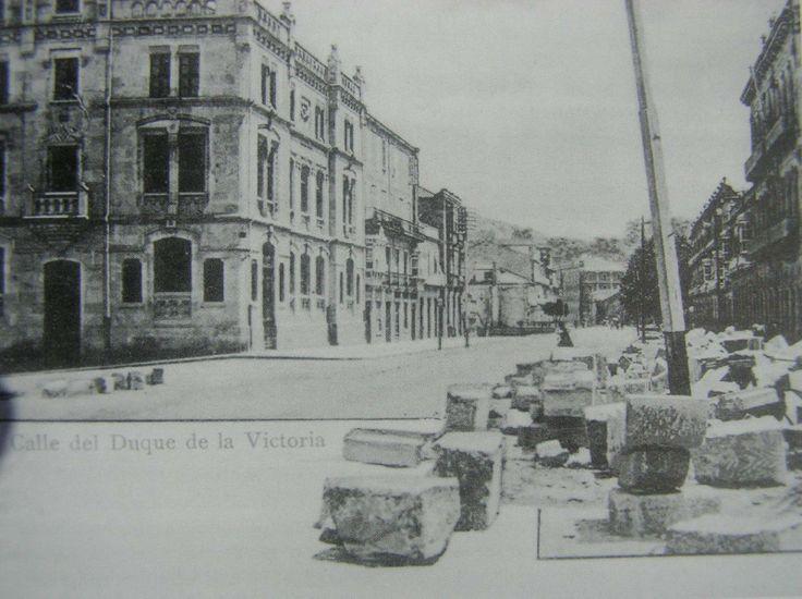 La actual calle de garc a barb n finales del siglo xix - Calle montserrat barcelona ...