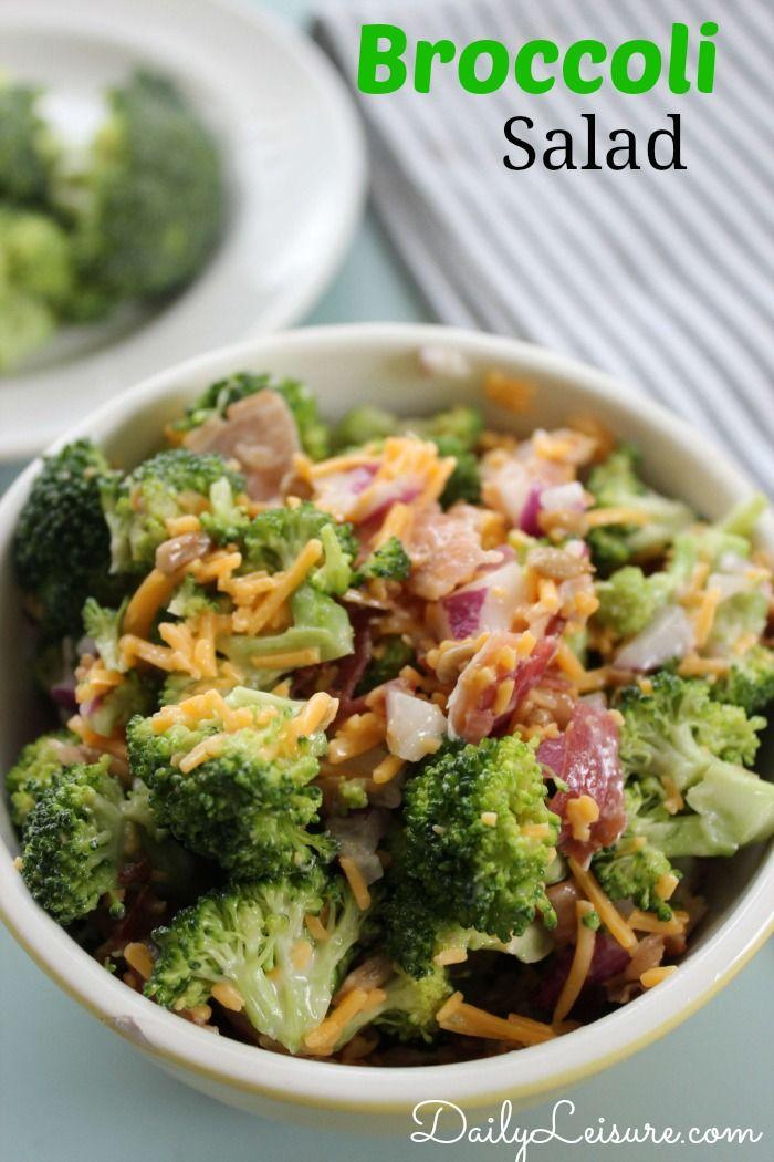 Broccoli Salad - Daily Leisure