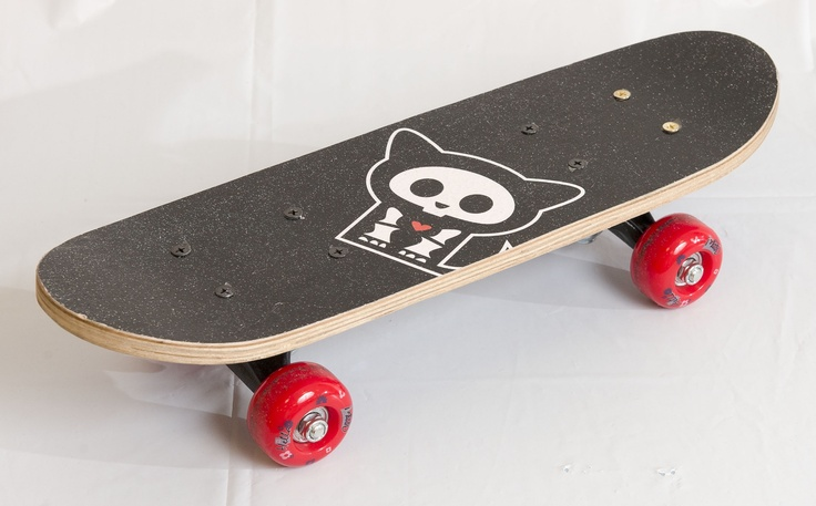 CHEEKY: Skelanimals skateboard, $14.99 at ToysRUs.com. (Helmet sold separately.) Enter to win a $ 500 shopping spree with @TheProvince and Brentwood Town Centre: http://theprov.in/pinandwin #backtoschool