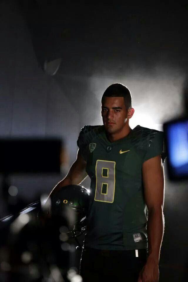 Marcus Mariota. He is such and inspiration. I love him. My ...