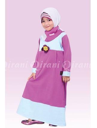 Beli Baju Dress Anak Gamis Qirani Kids QK-50 Purple dari Aprilia Wati agenbajumuslim - Sidoarjo hanya di Bukalapak