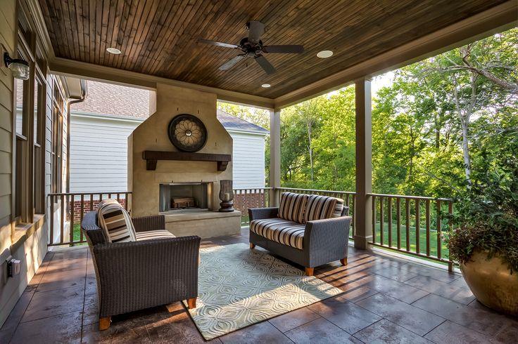 verandah fireplace - Google Search   Outdoor decor, Patio ...