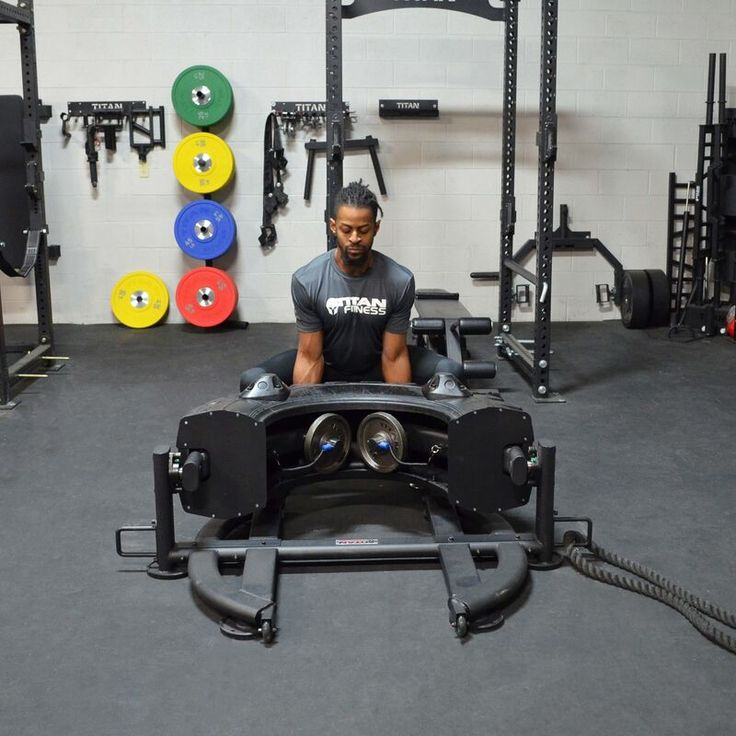 Indoor tire flipping machine crossfit home gym indoor