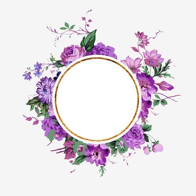 Elegant Floral Frame Design Frame Floral Frame Floral Png Transparent Clipart Image And Psd File For Free Download Vintage Floral Backgrounds Flower Frame Floral Background