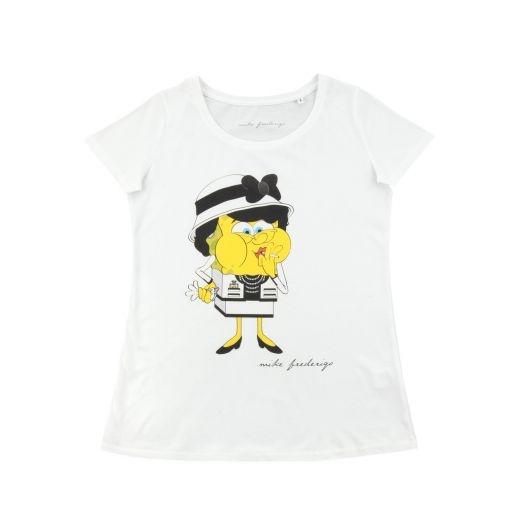 """MIKE FREDERIQO Tシャツ """"Coco Chanel"""""""