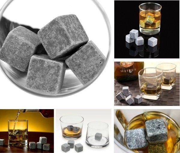 Grenhaven Whisky-Steine aus natürlichem Speckstein