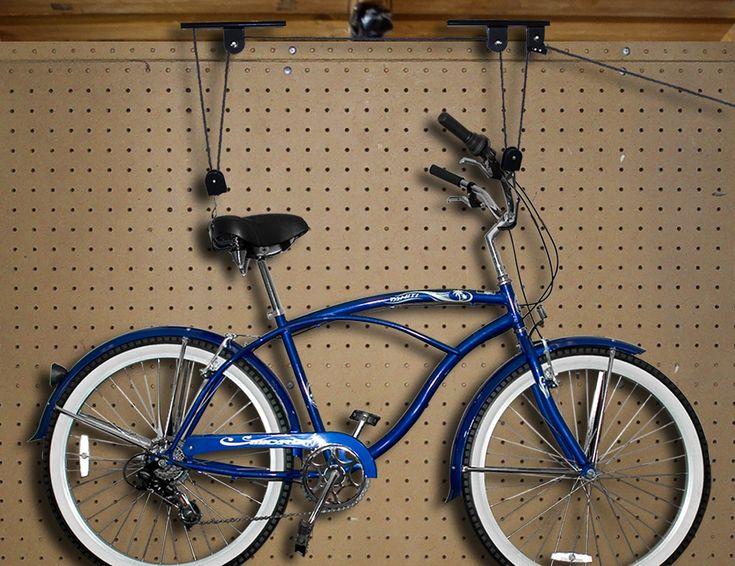 Best 25+ Bike lift ideas on Pinterest | Bike storage lift ...