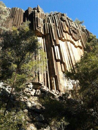 Organ Pipes rock formations, Mt. Kaputar