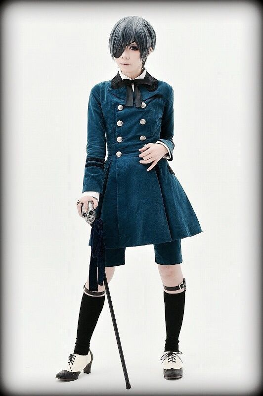 ciel phantomhive cosplay - photo #1