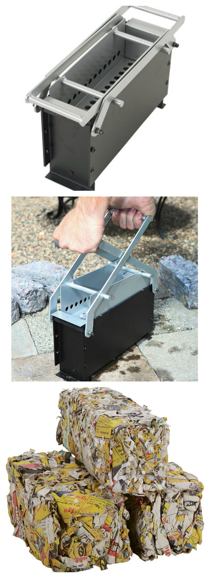 Paper Log Maker - So you want a cozy fire but don't have money to burn?