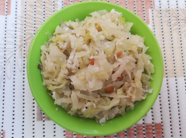 Famous Indian Recipes - how to make cabbage poriyal recipe / Cabbage Stir Fry Recipe, cooking cabbage, cabbage to lose weight, cabbage calories, veg recipes