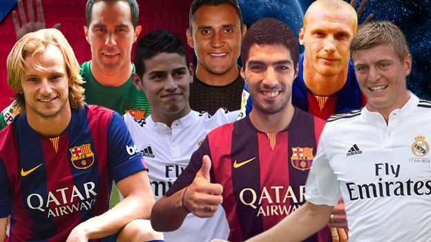 Barcelona vs. Real Madrid: ¿qué grande de España ha hecho mejores fichajes? #Depor