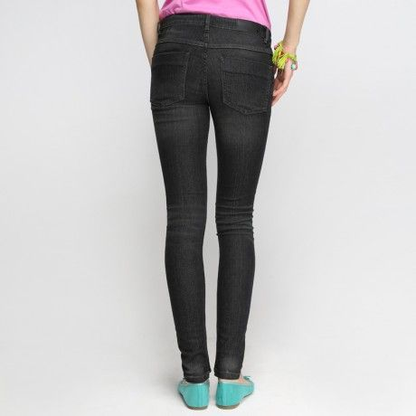 88 Fitted Stone Wash Skinny Jeans