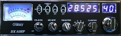 Galaxy DX55HP 10m CB Radio