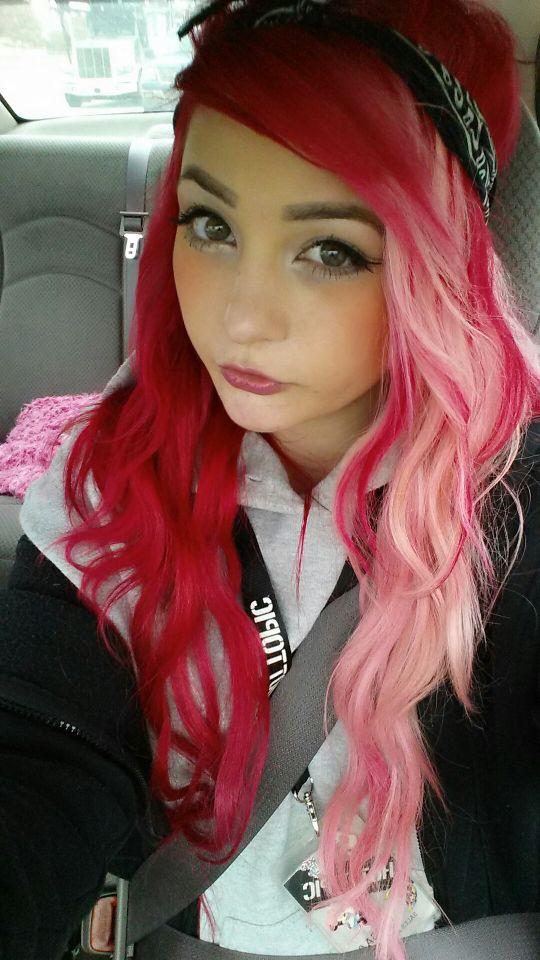 Best 20+ Half dyed hair ideas on Pinterest