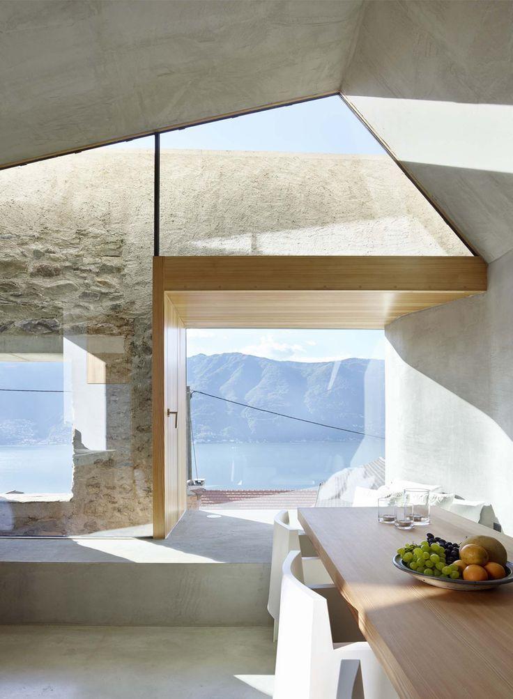 Umbau Steinhaus im Dorfkern von Scaiano