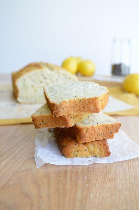 Lemon Poppy Seed Loaf - amazing fresh lemon flavor, makes 1 loaf or 12 muffins