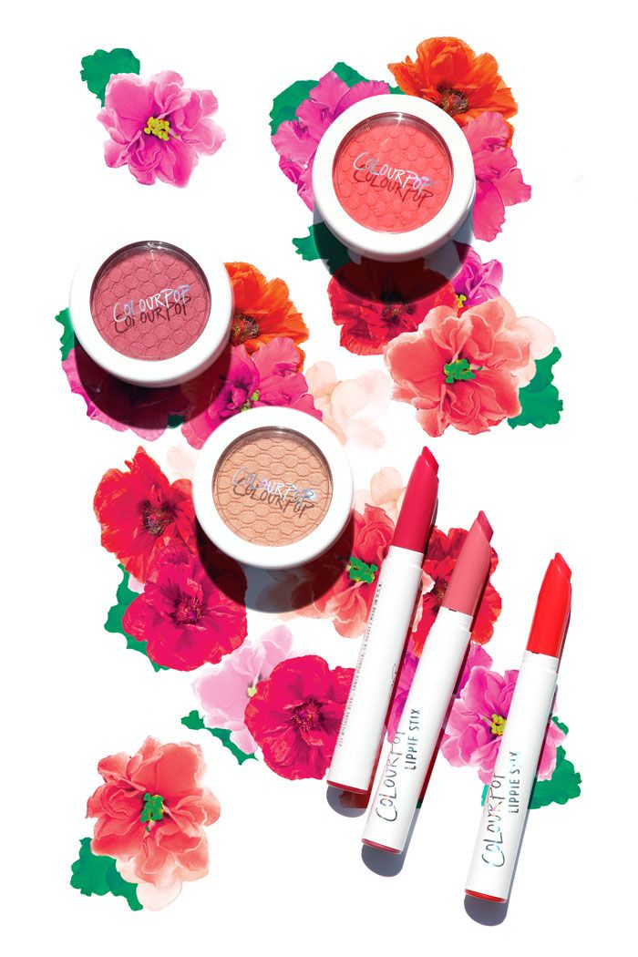 Colourpop New Lux Lipstick Look Like Traditional Bullets: ColourPop Cosmetics Spring Collection Created By Celebrity