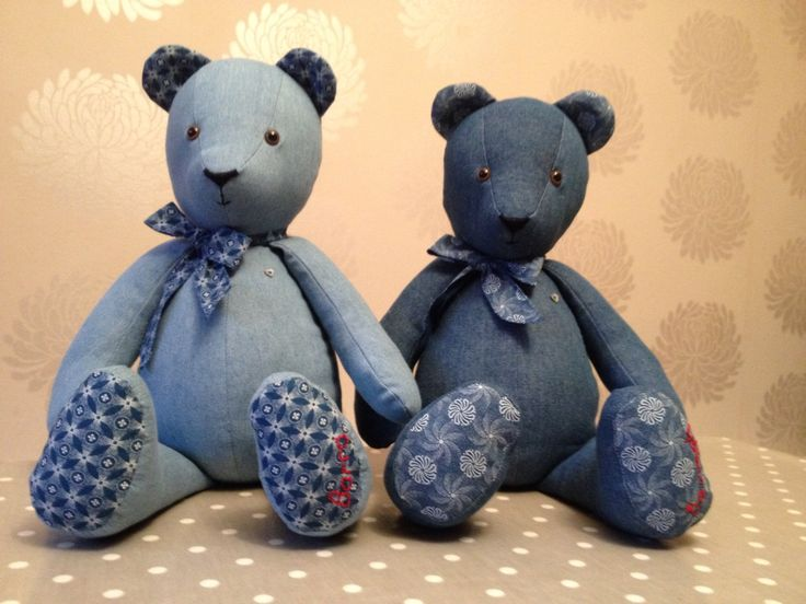 Denim Teddies