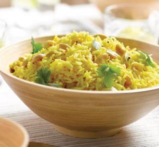 Lemon and cashew rice | Australian Healthy Food Guide