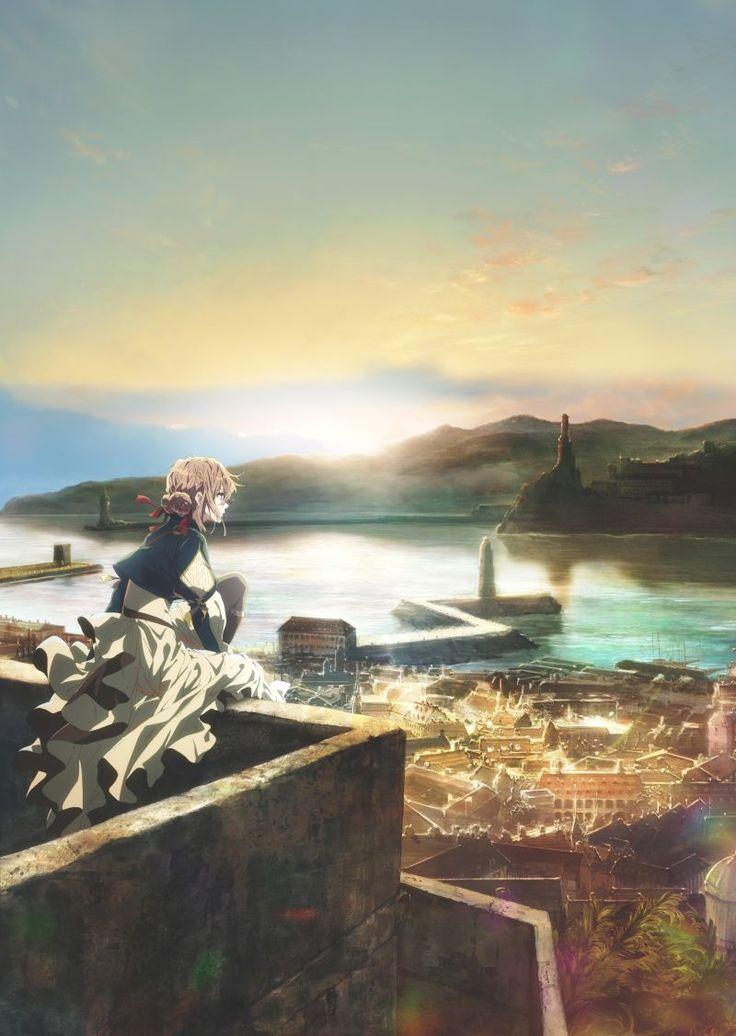 """Violet Evergarden"" PV, Cast, Crew, & Visual Unveiled by Mike Ferreira"