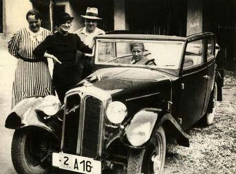 Avtomontaža Triglav from 1934. First car from Yugoslavia.