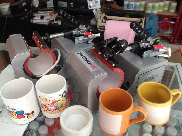 Mesin Press Mug Rhinotec