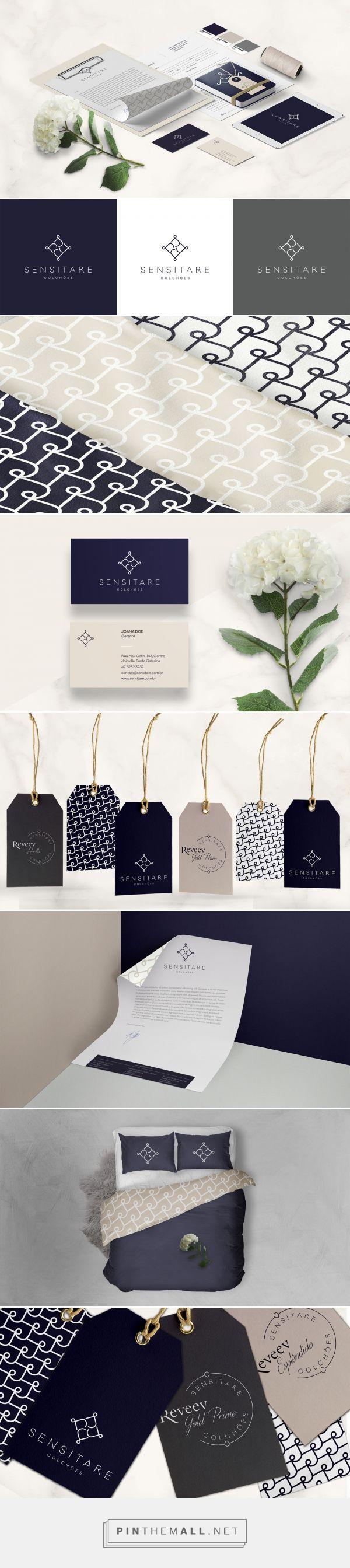 T-shirt design zeixs - Sensitare Mattress Company Branding By Taina Ribovski