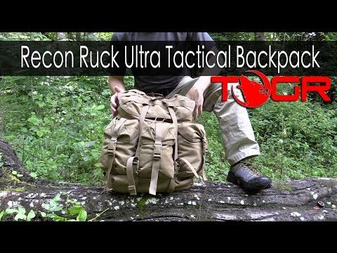 Bushcraft Pack? - Modern Day Alice Pack - Recon Ruck Ultra Tactical Backpack - YouTube