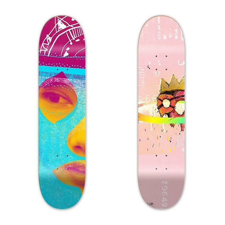 Working as a #freelance  #graphicdesigner #graphicartist for #skateboard #deckdesign  These #illustrations are done as an example. Love to hear from you if looking for some custom #graphics #art for deck art / #design
