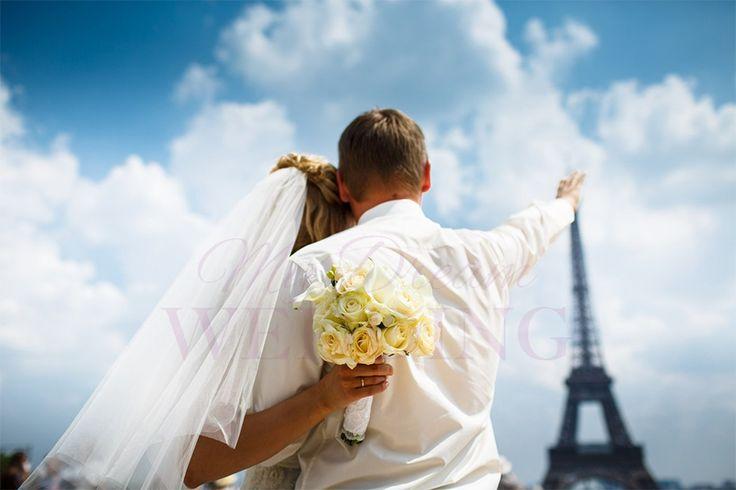 Destination wedding in Paris. Irina and Vasiliy, orthodox ceremony, mydw.ru
