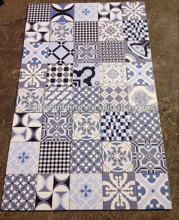 handmade antique encaustic cement floor tiles