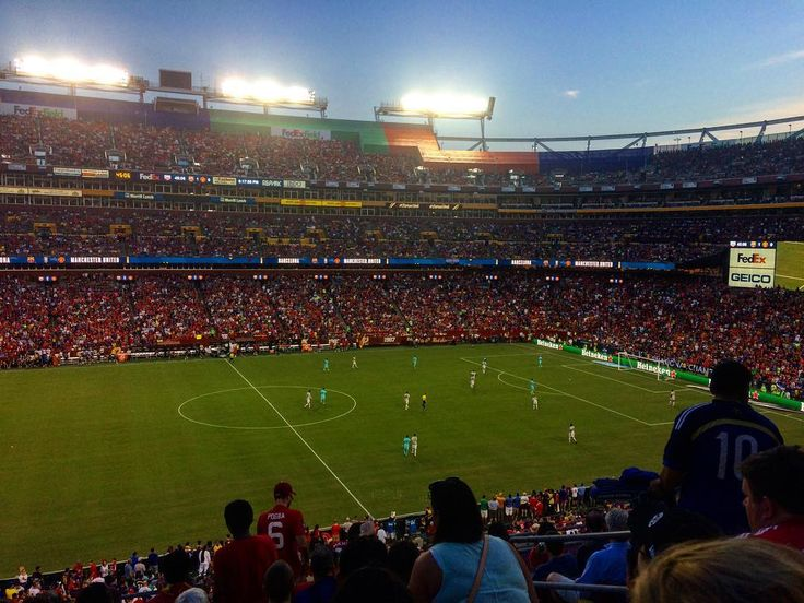 👀 Great view from the stands at FedEx Field! #MUTOUR