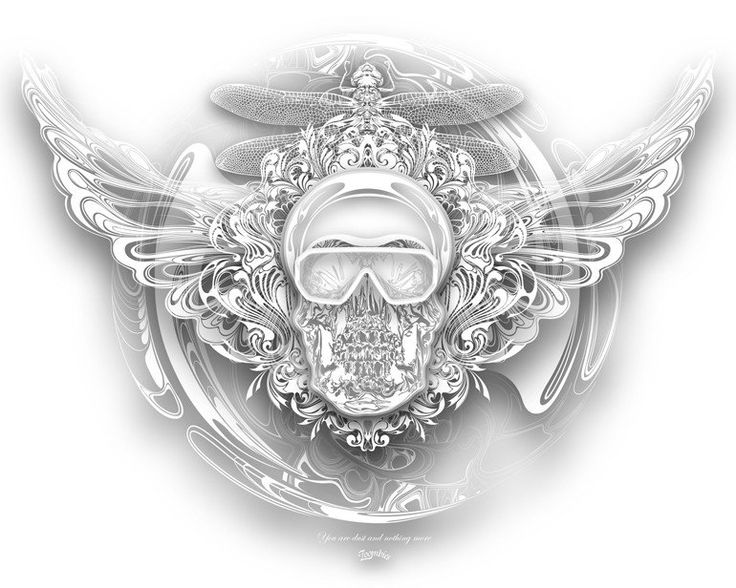 One Army, Glass Skull Panoramix - Jakub Exner Zoombies (Print)
