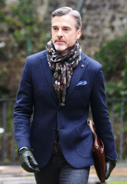 Street Style @ Pitti Uomo, Men's Fall Winter Fashion.