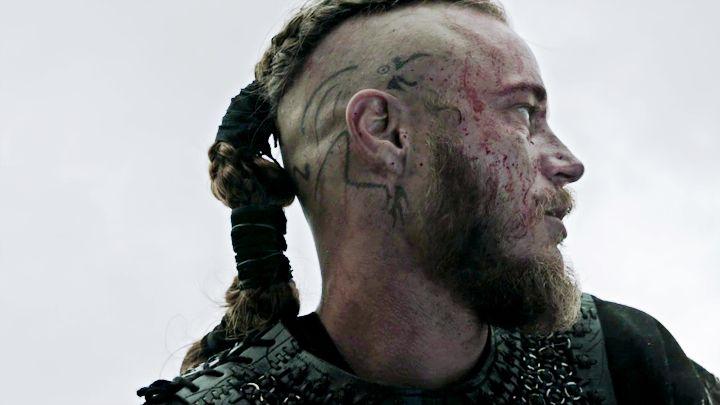 Vikings ragnar 720 405 vikings pinterest for Ragnar head tattoo stencil