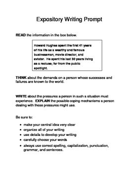 expository essay prompts with quotes Improve your writing skills with practice essays based on these 30 expository writing prompts.