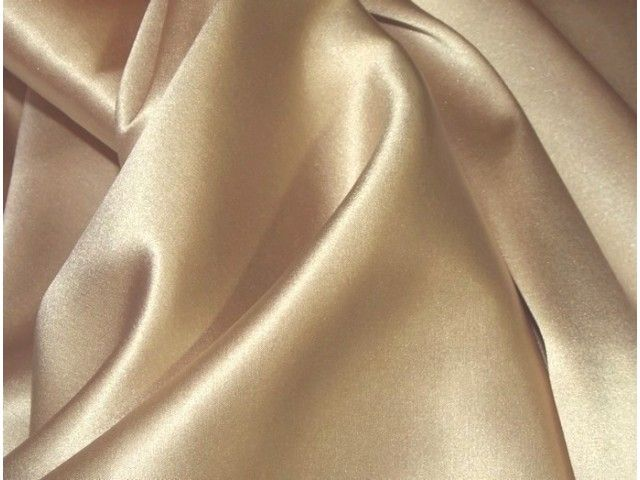 Champagne Satin Cloth