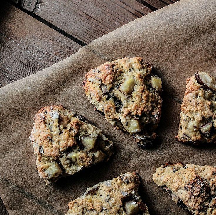 Pear ChocolateScones | Pastry Affair