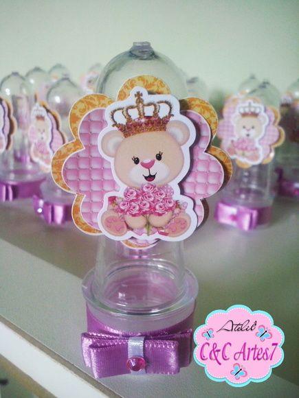 Mini Tubete Ursinha Princesa                                                                                                                                                                                 Mais