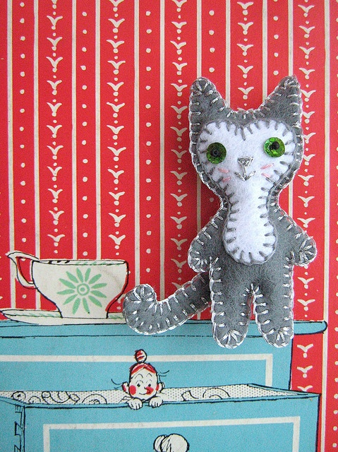 Argento and drawers with Mrs Pepperpot by Joey's Dream Garden,
