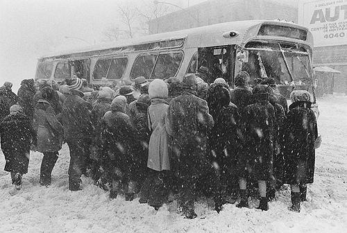 Tempête du siècle, Montréal, 1971