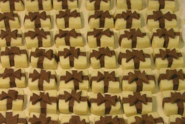 Fotorecept: Sušienky darčeky - Dekoračné keksíky, ktoré potešia malých aj veľkých.