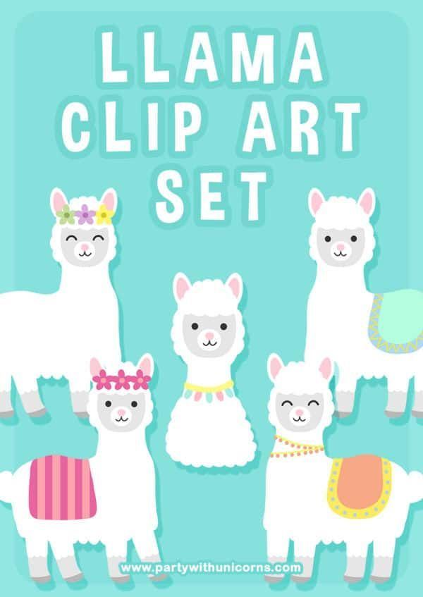Llama Clipart : llama, clipart, Llama, Download, Freebies,, Images
