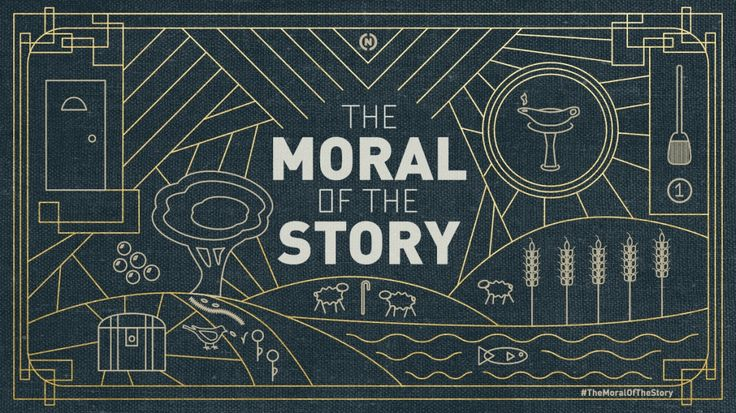 The Moral of the Story Sermon Series Idea                                                                                                                                                                                 More