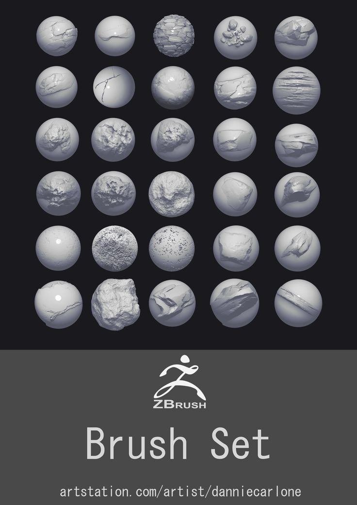 https://gum.co/jqTc  Hey everyone!  As I start to do more tutorials and share some of my process I wanted to make a brush pack. In the pack there is an assortment of Rock, Cliff, Stone,and Wood alphas. I also threw in a ztl of one of my tileable sculpts to hopefully help show my workflow. Hope you enjoy! :)