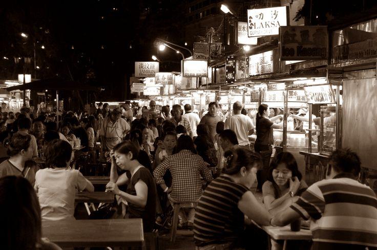"""Gurney Dive""  Penang street food"