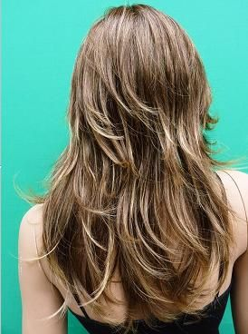 64 best layered hair images on pinterest hairstyles braids and sexy layers this is best on someone who has thick wavy hair chey le do pmusecretfo Choice Image