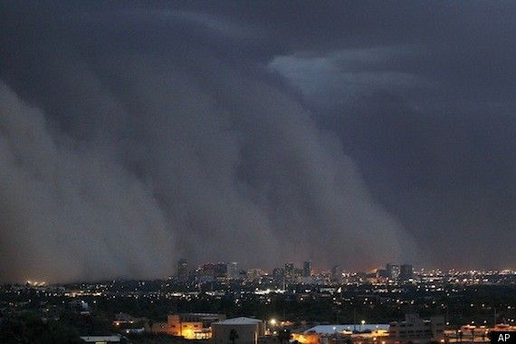 Phoenix Dust Storm: Arizona Hit With Monstrous 'Haboob' (PHOTOS/VIDEO)